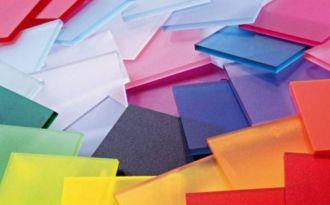Цветной монолитный поликарбонат 3 мм