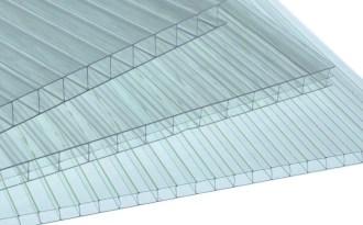 Прозрачный сотовый поликарбонат 10 мм