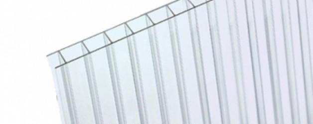Прозрачный сотовый поликарбонат премиум 4 мм