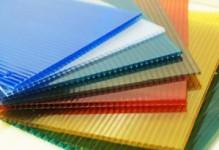 Цветной сотовый поликарбонат 4 мм